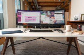 HP's new ultrawide screen can demonstrate two gadget's screens Simultaneously